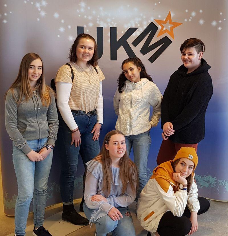 Gruppebilde UKM fylkesfinale 2019