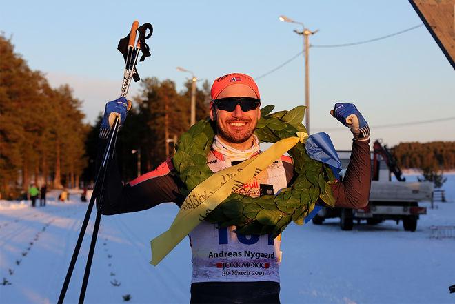 ANDREAS NYGAARD vann både finalen Ylläs-Levi och Visma Ski Classics totalt. Här från segern i Nordenskiöldsloppet i Jokkmokk. Foto/rights: KJELL-ERIK KRISTIANSEN/kekstock.com