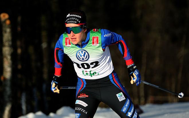 EBBA ANDERSSON slog flera världscupåkare på herrsidan när hon krossade motståndet i norska RedBull Janteloppet i Hafjell under lördagen. Foto/rights: KJELL-ERIK KRISTIANSEN/kekstock.com