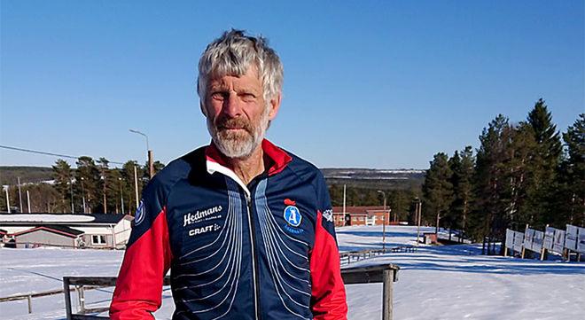 THOMAS WASSBERG håller sig sysselsatt. Ordförande, tävlingsledare och spårdragare är några av hans åtaganden i Åsarna IK. Foto: ANKI ANDERSSON
