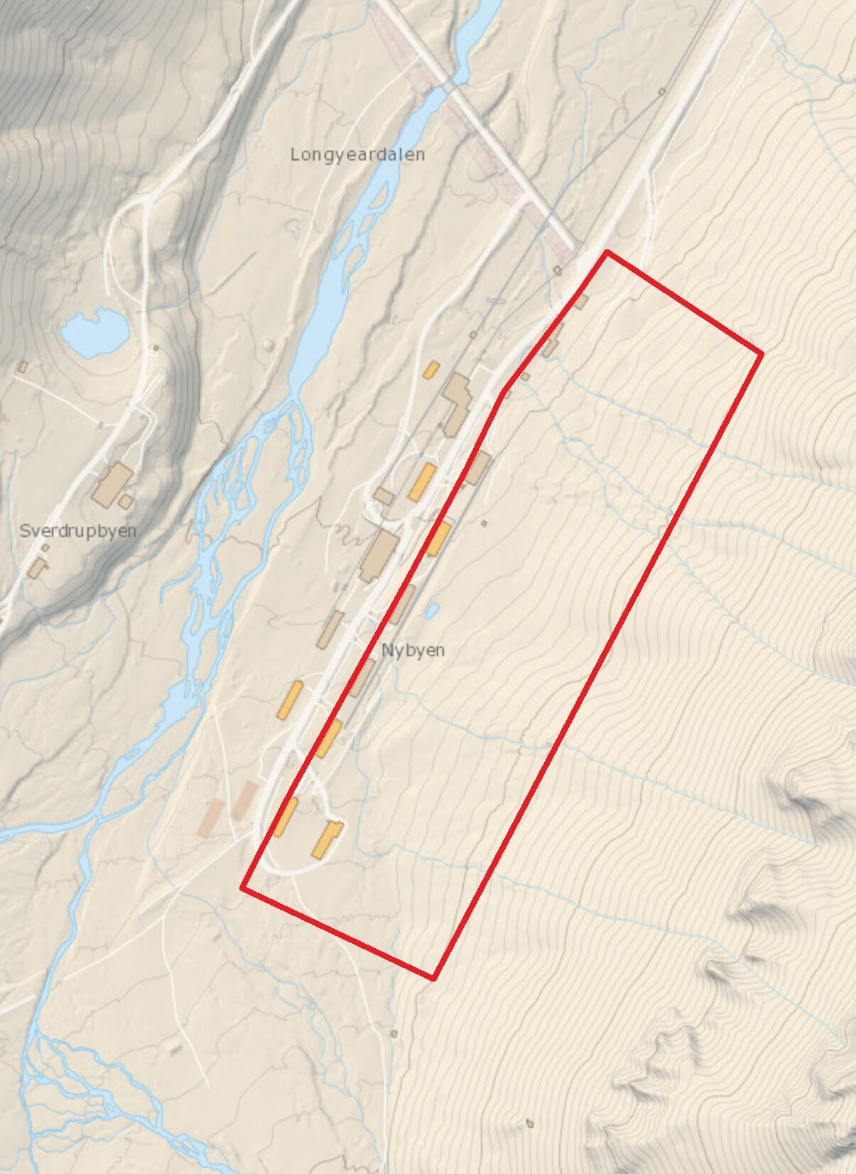 Påsken 2019 evakuering Nybyen