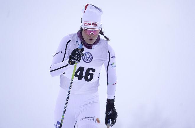 LOVISA MODIG gick till Piteå Elit från Sävast Ski Team förra säsongen, nu får varken hon eller Jennie Öberg fortsätta i Piteå. Foto/rights: TOM-WILLIAM LINDSTRÖM/kekstock.com