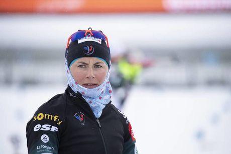 08.03.2019, Oestersund, Sweden (SWE):Justine Braisaz (FRA) - IBU world championships biathlon, sprint women, Oestersund (SWE). www.nordicfocus.com. © Manzoni/NordicFocus. Every downloaded picture is fee-liable.
