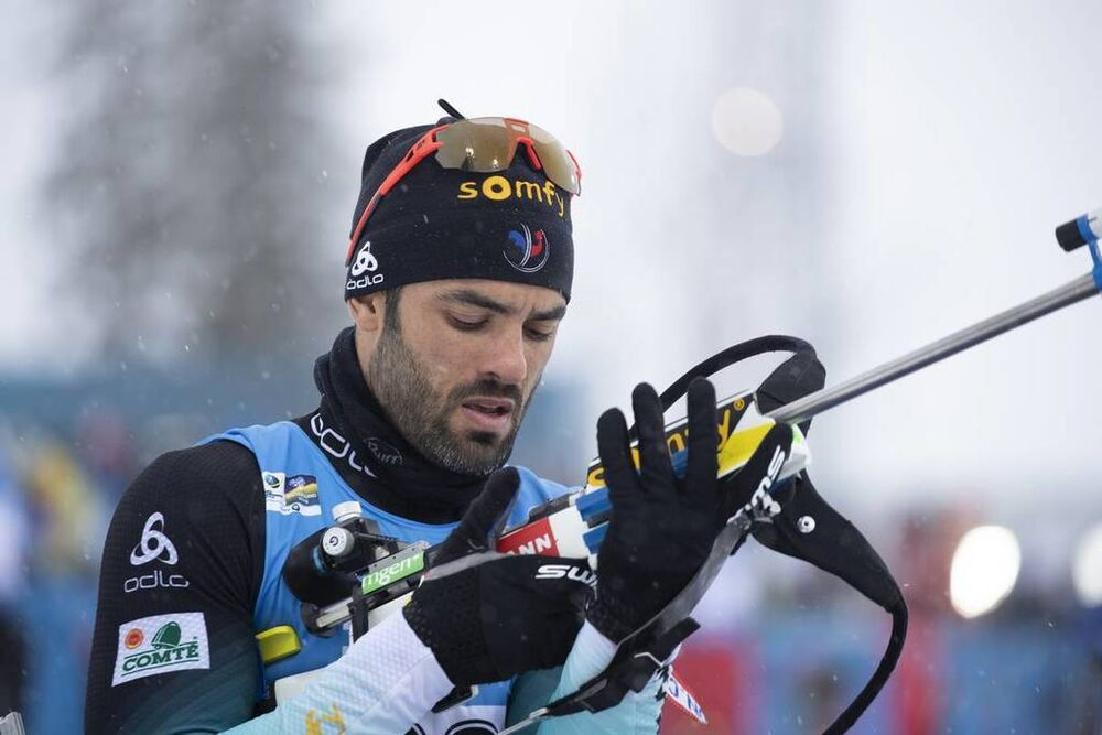 13.03.2019, Oestersund, Sweden (SWE):Simon Fourcade (FRA) - IBU world championships biathlon, individual men, Oestersund (SWE). www.nordicfocus.com. © Manzoni/NordicFocus. Every downloaded picture is fee-liable.