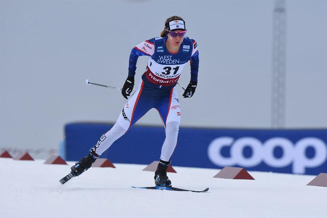 JESSICA DIGGINS är den stora stjärnan i det amerikanska längdåkningslandslaget. Foto/rights: ROLF ZETTERBERG/kekstock.com