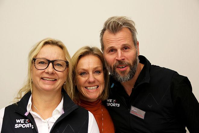 W & SPORTS för att förbättra unga idrottares psykiska ohälsa. Nu öppnar man Sveriges första och enda chatt för unga idrottare. Centrala i W & Sports är främst Paula Lembke (tv) och Ante Andersson (th). Foto/rights: KJELL-ERIK KRISTIANSEN/kekstock.com