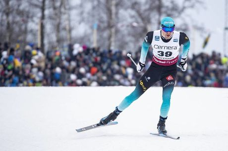 26.01.2019, Ulricehamn, Sweden (SWE):Maurice Manificat (FRA) - FIS world cup cross-country, 15km men, Ulricehamn (SWE). www.nordicfocus.com. © Modica/NordicFocus. Every downloaded picture is fee-liable.