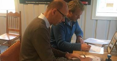 Breivoll signering