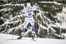 16.12.2018, Davos, Switzerland (SUI):Calle Halfvarsson (SWE) - FIS world cup cross-country, 15km men, Davos (SUI). www.nordicfocus.com. © Modica/NordicFocus. Every downloaded picture is fee-liable.