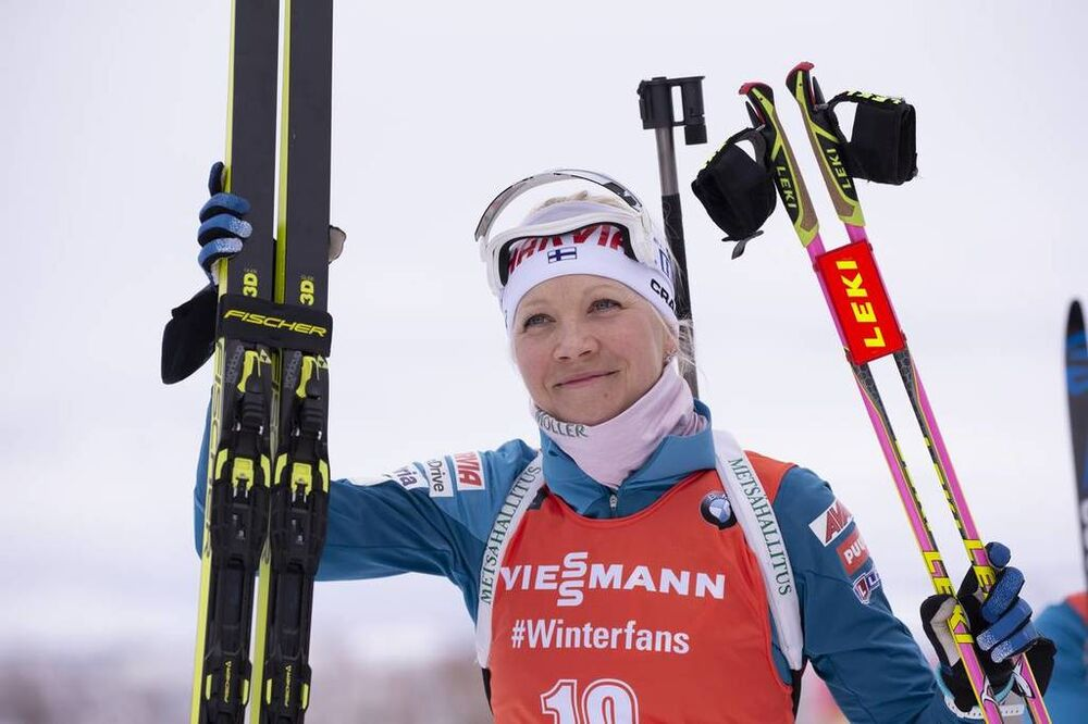 14.02.2019, Soldier Hollow, United States of America (USA):Kaisa Makarainen (FIN) -  IBU world cup biathlon, sprint women, Soldier Hollow (USA). www.nordicfocus.com. © Manzoni/NordicFocus. Every downloaded picture is fee-liable.
