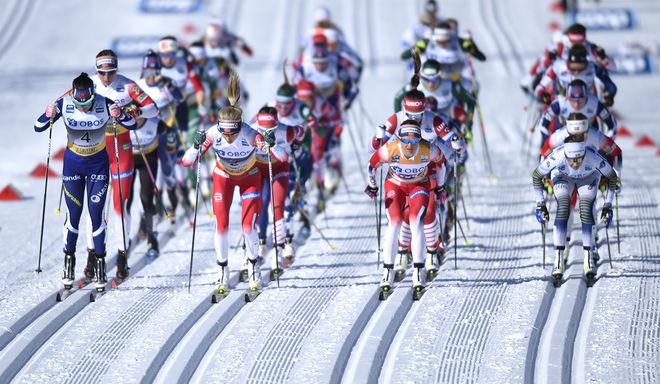 HOLMENKOLLEN har haft masstart på sina världscuptävlingar sedan 2009. Men från och med 2021 går man tillbaka till individuell start. Foto/rights: NORDIC FOCUS