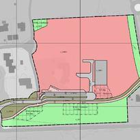 Plankart Høgegga barnehage
