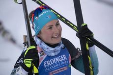 12.03.2019, Oestersund, Sweden (SWE):Justine Braisaz (FRA) - IBU world championships biathlon, individual women, Oestersund (SWE). www.nordicfocus.com. © Manzoni/NordicFocus. Every downloaded picture is fee-liable.