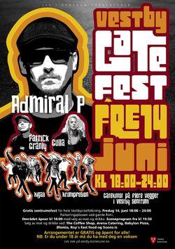 Gatefest i Vestby sentrum 14. juni