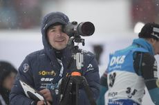 05.01.2017, Oberhof, Germany (GER):Event Feature: Franck Badiou (FRA)  -  IBU world cup biathlon, sprint men, Oberhof (GER). www.nordicfocus.com. © Manzoni/NordicFocus. Every downloaded picture is fee-liable.