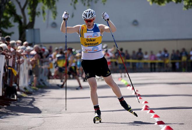 OS-FEMMAN Oskar Svensson, Falun-Borlänge SK är en av åkarna från landslaget som är anmälda till rullskids-SM i Malmö. Foto/rights: MARCELA HAVLOVA/kekstock.com