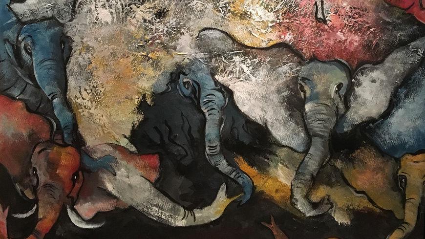 barn i kolben elefant nett