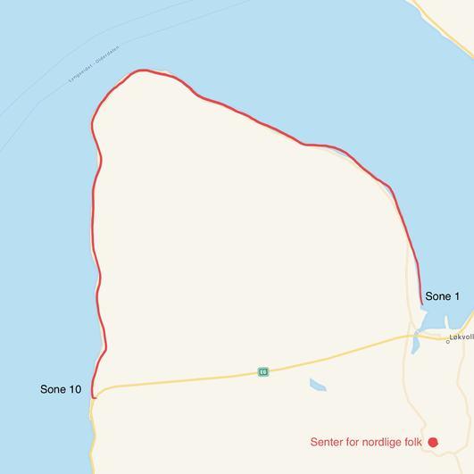 Kart fiskesoner