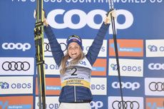 10.03.2019, Oslo, Norway (NOR):Therese Johaug (NOR) - FIS world cup cross-country, mass women, Oslo (NOR). www.nordicfocus.com. © Thibaut/NordicFocus. Every downloaded picture is fee-liable.