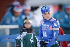 12.03.2019, Oestersund, Sweden (SWE):Dorothea Wierer (ITA) - IBU world championships biathlon, individual women, Oestersund (SWE). www.nordicfocus.com. © Tumashov/NordicFocus. Every downloaded picture is fee-liable.