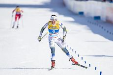23.02.2019, Seefeld, Austria (AUT):Charlotte Kalla (SWE) - FIS nordic world ski championships, cross-country, skiathlon women, Seefeld (AUT). www.nordicfocus.com. © Modica/NordicFocus. Every downloaded picture is fee-liable.
