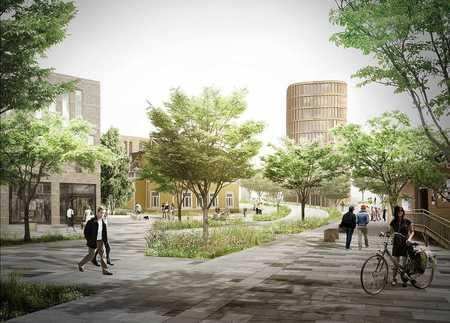 Fremtidens Vestby_8_ Illustrasjon Kroerveien med nytt gatesnitt_450x323.jpg