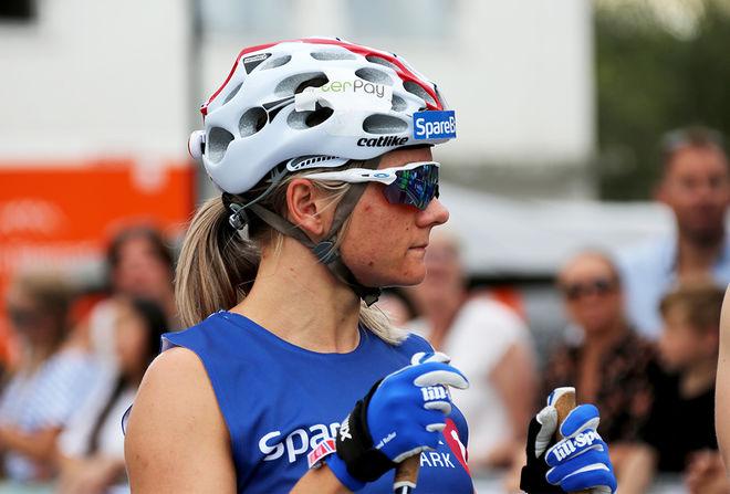 MAIKEN CASPERSEN FALLA var överlägsen i damfinalen i Bø och visade god form. Foto/rights: INKA KRISTIANSEN/kekstock.com