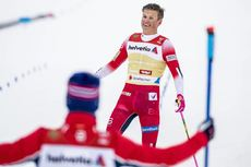 01.03.2019, Seefeld, Austria (AUT):Johannes Hoesflot Klaebo ((NOR)) - FIS nordic world ski championships, cross-country, 4x10km men, Seefeld (AUT). www.nordicfocus.com. © Modica/NordicFocus. Every downloaded picture is fee-liable.