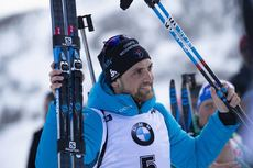 15.02.2019, Soldier Hollow, United States of America (USA):Simon Desthieux (FRA) -  IBU world cup biathlon, sprint men, Soldier Hollow (USA). www.nordicfocus.com. © Manzoni/NordicFocus. Every downloaded picture is fee-liable.