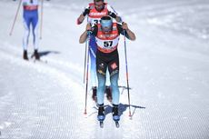 17.02.2019, Cogne, Italy (ITA):Clement Parisse (FRA) - FIS world cup cross-country, 15km men, Cogne (ITA). www.nordicfocus.com. © Thibaut/NordicFocus. Every downloaded picture is fee-liable.
