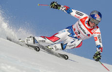 15 February 2019, Sweden, Are: Alpine skiing, world championship, giant slalom, men: Alexis Pinturault from France in the 1st round on the course. Photo: Michael Kappeler/dpa (MaxPPP TagID: dpaphotosthree732316.jpg) [Photo via MaxPPP]