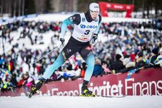 16.03.2019, Falun, Sweden (SWE):Lucas Chanavat (FRA) - FIS world cup cross-country, individual sprint, Falun (SWE). www.nordicfocus.com. © Modica/NordicFocus. Every downloaded picture is fee-liable.