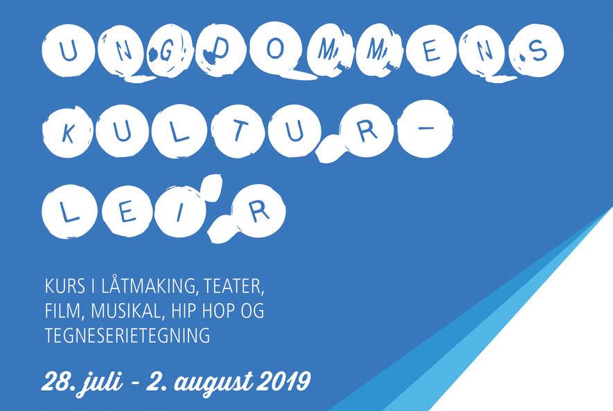 Ungdommens Kulturleir 2019 nett forside