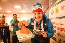 17.03.2019, Oestersund, Sweden (SWE):Ekaterina Yurlova-Percht (RUS) - IBU world championships biathlon, mass women, Oestersund (SWE). www.nordicfocus.com. © Tumashov/NordicFocus. Every downloaded picture is fee-liable.