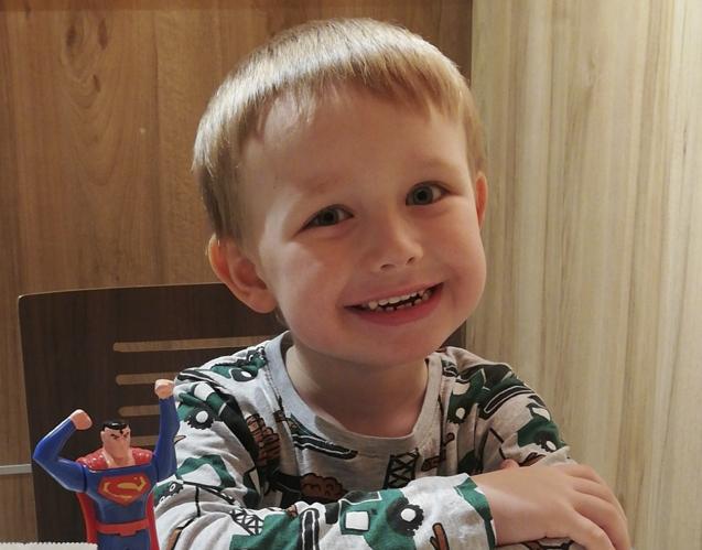 Johannes Moe Pettersen 5 år