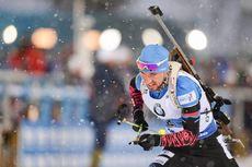 16.03.2019, Oestersund, Sweden (SWE):Alexander Loginov (RUS) - IBU world championships biathlon, relay men, Oestersund (SWE). www.nordicfocus.com. © Tumashov/NordicFocus. Every downloaded picture is fee-liable.