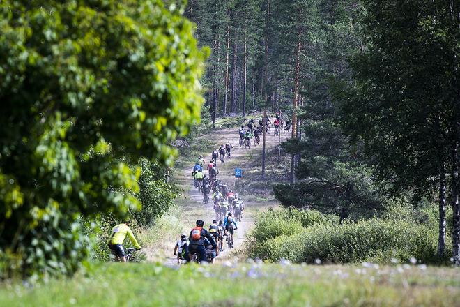 EN MAN i 65-årsåldern avled under Cykelvasan på fredag. Foto. HENRIK HANSSON/VASALOPPET