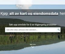 Lunner e-torg: Kart, eiendomsdata og nabovarsel