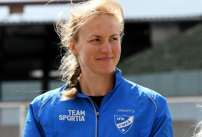 LINN SÖMSKAR skall satsa på långlopp i det finska Team Nordic Athlete. Foto/rights: ROLF ZETTERBERG/kekstock.com