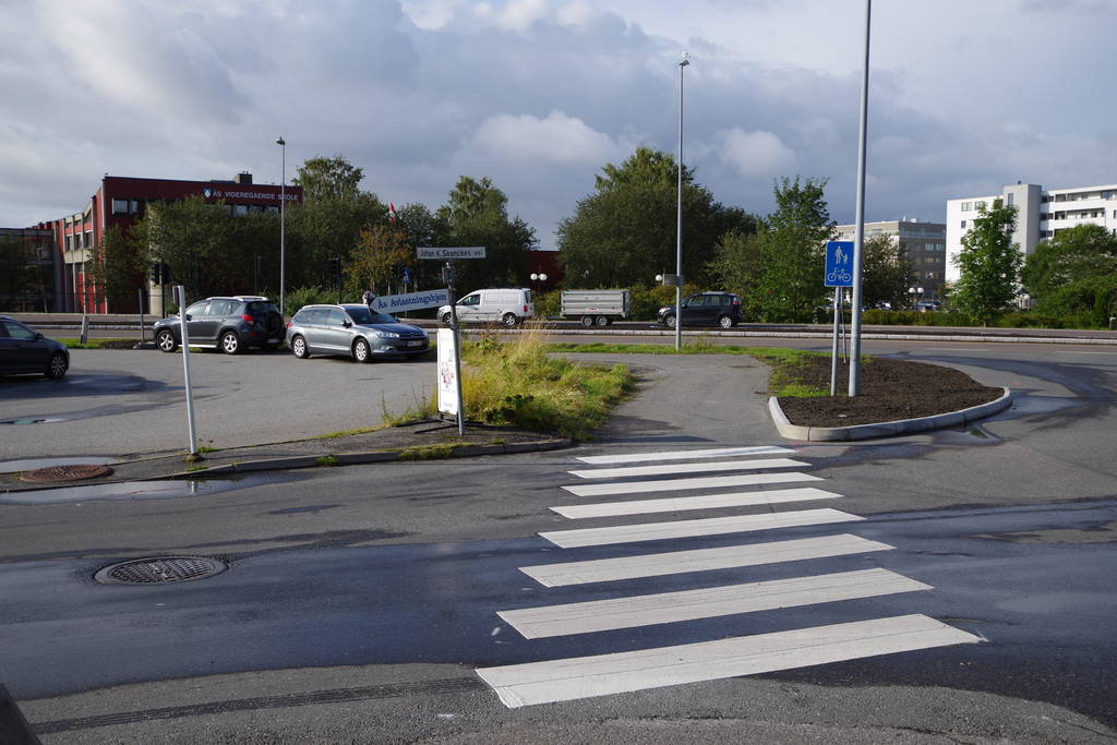 Fotgjengerfelt i Johan K. Skanckesvei