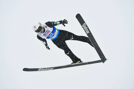 01.03.2019, Seefeld, Austria (AUT):Yukiya Sato (JPN) - FIS nordic world ski championships, ski jumping, individual HS109, Seefeld (AUT). www.nordicfocus.com. © THIBAUT/NordicFocus. Every downloaded picture is fee-liable.