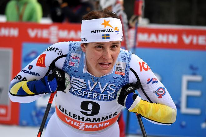 IDA INGEMARSDOTTER skall försvara längdåkarnas färger i nästa säsong av Mästarnas mästare på SVT. Inspelningarna startar i Grekland i september. Foto/rights: ROLF ZETTERBERG/kekstock.com