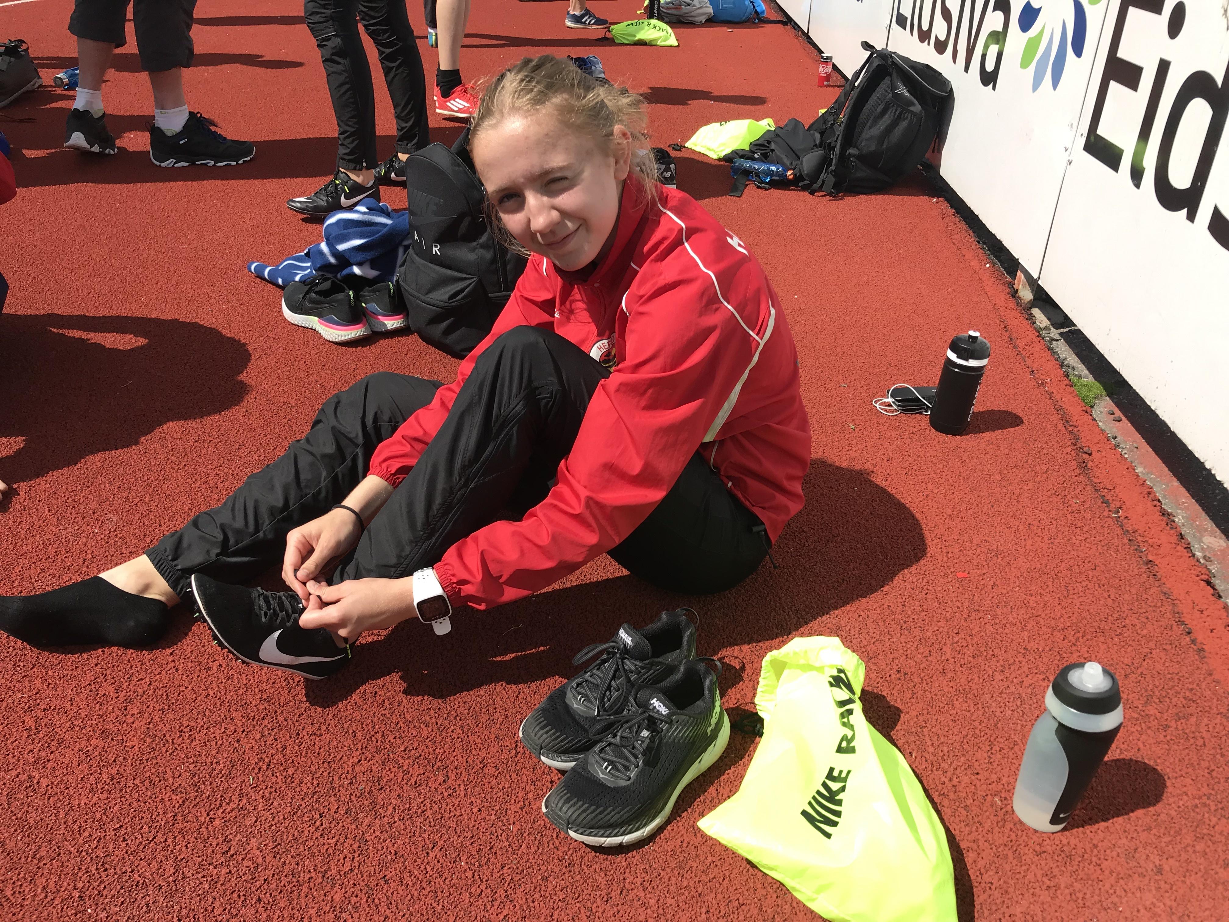 Ingrid i Lillehammer