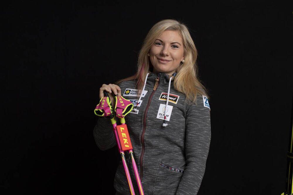 03.12.2018, Pokljuka, Slovenia (SLO):Lucie Charvatova (CZE) - IBU world cup biathlon, photoshooting, Pokljuka (SLO). www.nordicfocus.com. © Manzoni/NordicFocus. Every downloaded picture is fee-liable.