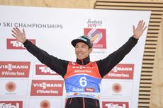 28.02.2019, Seefeld, Austria (AUT):Akito Watabe (JPN) - FIS nordic world ski championships, nordic combined, individual gundersen HS109/10km, Seefeld (AUT). www.nordicfocus.com. © THIBAUT/NordicFocus. Every downloaded picture is fee-liable.