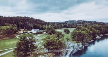 Oversiktsfoto over Breivoll