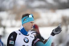 15.02.2019, Soldier Hollow, United States of America (USA):Emilien Jacquelin (FRA) -  IBU world cup biathlon, sprint men, Soldier Hollow (USA). www.nordicfocus.com. © Manzoni/NordicFocus. Every downloaded picture is fee-liable.