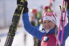 15.12.2018, Hochfilzen, Austria (AUT):Kaisa Makarainen (FIN) - IBU world cup biathlon, pursuit women, Hochfilzen (AUT). www.nordicfocus.com. © Manzoni/NordicFocus. Every downloaded picture is fee-liable.