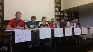 Panel debattmøte om alkohol 2