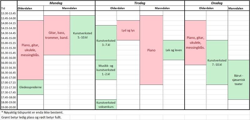 19_timeplan høst 2019 v2